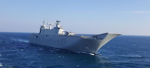 Portaaviones 'Juan Carlos I' de la Armada Española