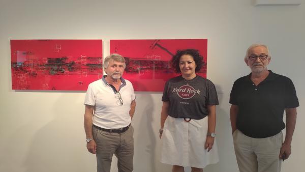El Pósito de Vélez-Málaga acoge una exposición del artista Javier Ponce
