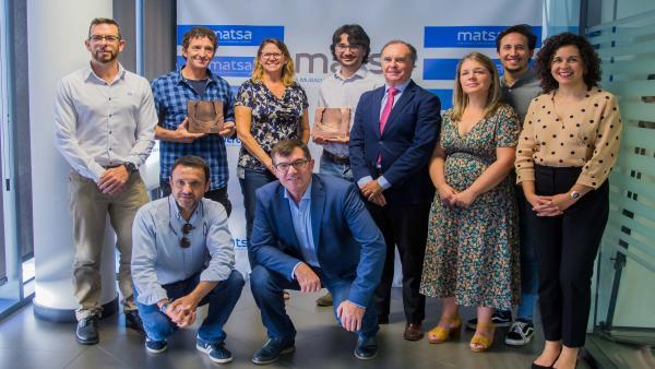 La empresa Matsa otorga el primer premio de su Programa Emprende.