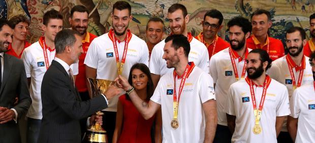 Sigue en directo la celebración del Mundial de baloncesto de la selección...