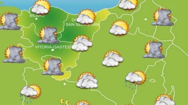Previsión meteorológica para el 17 de septiembre de 2019.