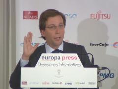 Almeida anuncia que peatonalizarán definitivamente la Puerta del Sol
