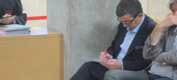 Rafael Sánchez Sostre en el juicio por fraude en la CEG