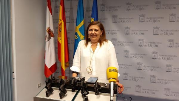 Marina Pineda, concejala Hacienda de Gijón