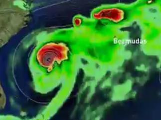 Situación actual del huracán Humberto.