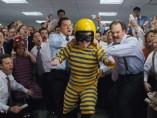 Una escena de 'El Lobo de Wall Street'