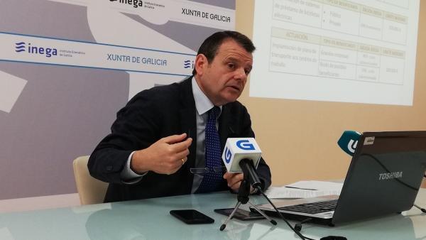 El director xeral de Enerxía, Ángel Bernardo Tahoces