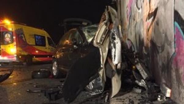 Foto del accidente