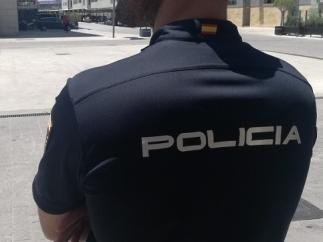 Imatge de recurs d'un agent de la Policia Nacional