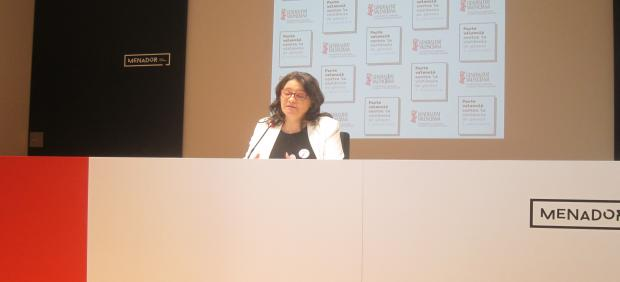 Mónica Oltra, vicepresidenta y consellera de Igualdad y Políticas Inclusivas
