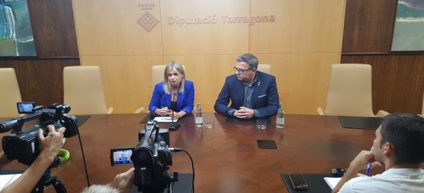 Noemí Llauradó  y Joan Talarn