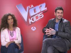 Melendi y Rosario en 'La Voz Kids'