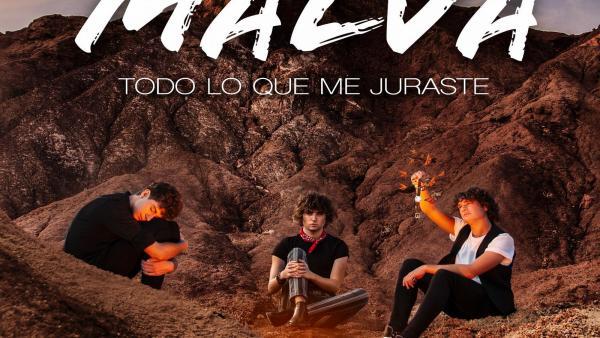 Carátula del nuevo single de 'Malva'