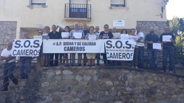Protestas de la Plataforma SOS Cameros