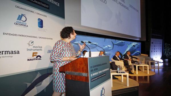 Conferencia Mundial del Atún celebrada en Vigo.