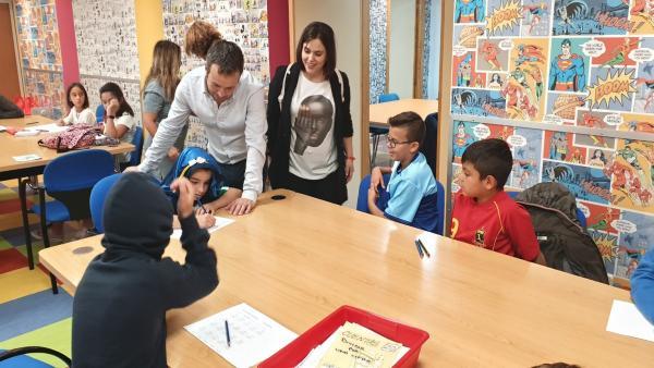 Inauugración del curso en el centro de día de la infancia de Peñamefécit.
