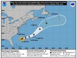 El huracán Humberto