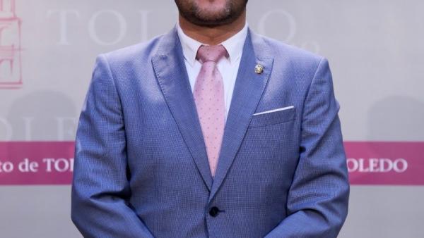 El concejal de Vox en Toledo Luis Miguel Núñez.