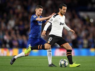 Parejo y Jorginho, Chelsea - Valencia