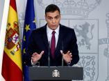 El presidente del Gobierno en funciones, Pedro Sánchez, en