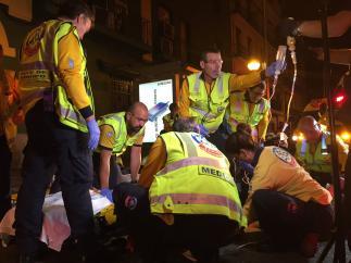 Dos jóvenes apuñalados en Madrid