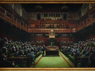 Chimpancés en el Parlamento