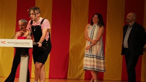 Lildami recibe el Premi Cerverí