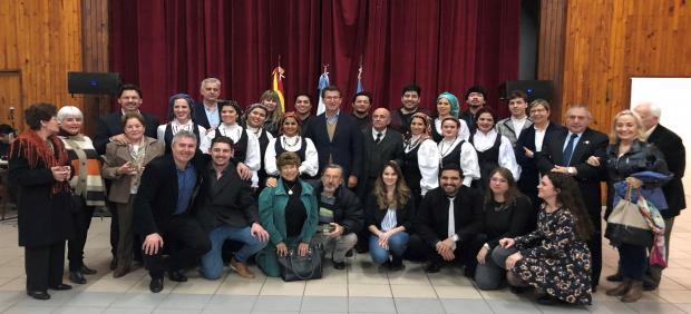 Feijóo, en un acto con la colectividad gallega en Argentina