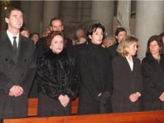 Carmen Franco y sus hijos
