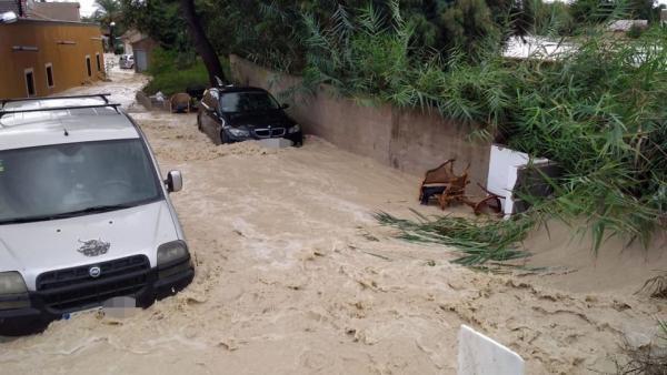 Desperfectos causados por la DANA (septiembre 2019) en Almoradí (Alicante)