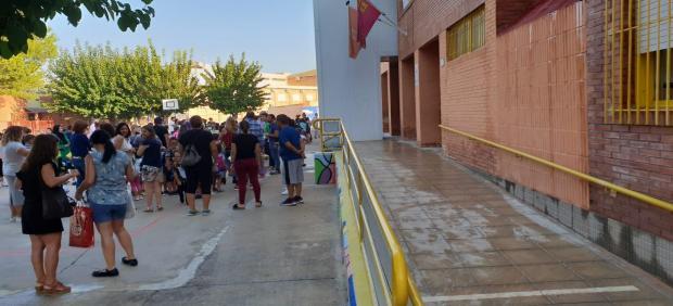 El colegio San José de Calasanz de Alquerías (Murcia) retoma las clases tras las inundaciones
