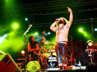 Imagen de archivo de un concierto de los Mojinos Escozios.