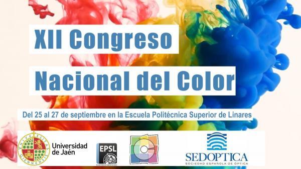 Cartel del XII Congreso Nacional del Color