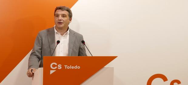 El portavoz de Cs en el Ayuntamiento de Toledo, Esteban Paños