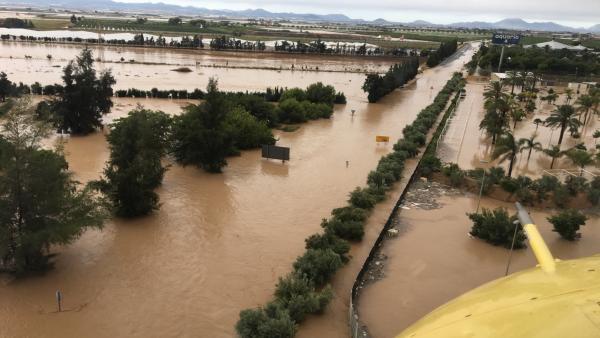 Imagen de Los Alcázares tomentas, inundaciones, lluvias, DANA