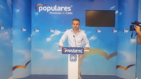 Andrés Núñez, secretario general del PP de Cádiz