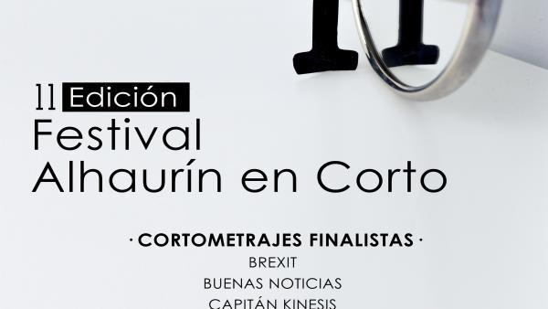 Cartel del XI Festival 'Alhaurín en Corto'.