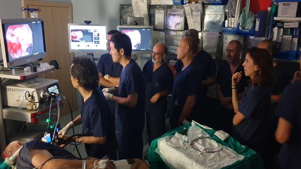 Quirónsalud Málaga celebra una masterclass en técnicas de endoscopia digestiva avanzada