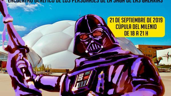 Cartel del encuentro Valladolid Galáctica.
