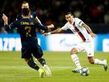 Di María y Carvajal, PSG - Real Madrid