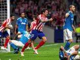 Savic en el Atlético-Juventus