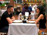 Alfonso y Eva María, en 'First dates'.