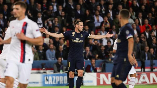 Bale se lamenta ante el PSG
