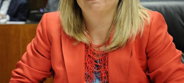 Blanca Martín, en la sesión constitutiva de la Asamblea este martes