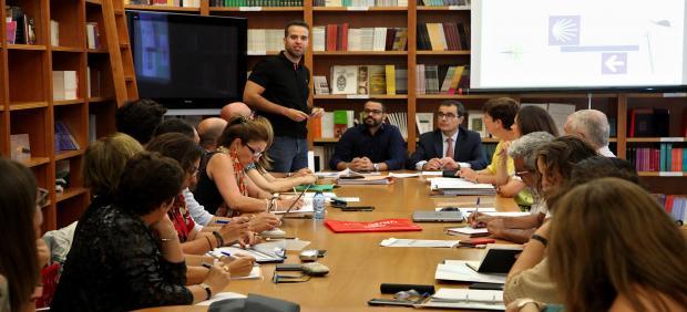 Reunión grupo de turismo en Badajoz