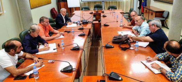 Reunión de la mesa del Regadío en Extremadura