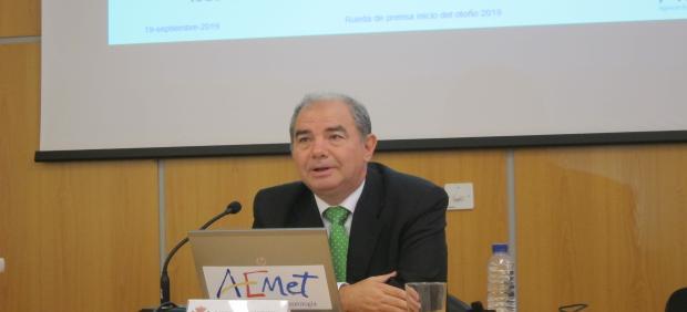 Delegado de la Aemet en Extremadura, Marcelino Núñez
