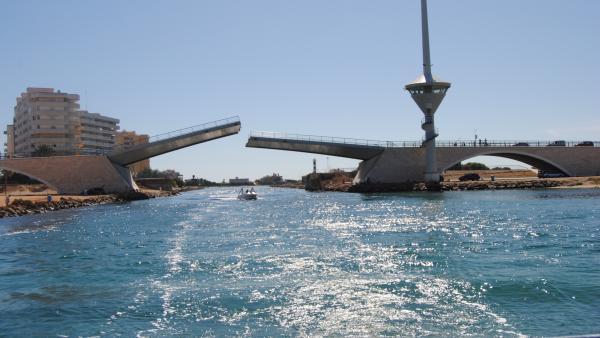 El Puente Del Estacio. Foto de archivo