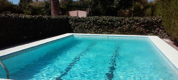 Imagen de una piscina privada en Andalucía