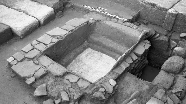 Baptisterio paleocristiano datado en el s.IV por investigadores de Vigo, A Coruña y Coimbra.